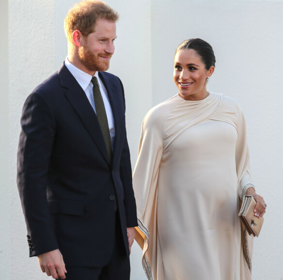 <strong>SNART FORELDRE:</strong> Prins Harry og hertuginne Meghan venter sitt første barn sammen. Foto: Scanpix