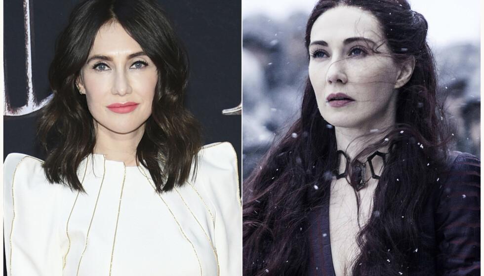 <strong>THE RED WOMAN:</strong> Det er den nederlandske skuespilleren Carice van Houten som har gestaltet rollen som Melisandre, også kjent som The Red Woman og The Red Priestess, i den uhyre populære HBO-serien Game of Thrones. FOTO: NTB Scanpix