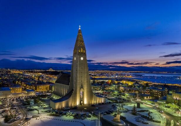 Spis og drikk i Reykjavik