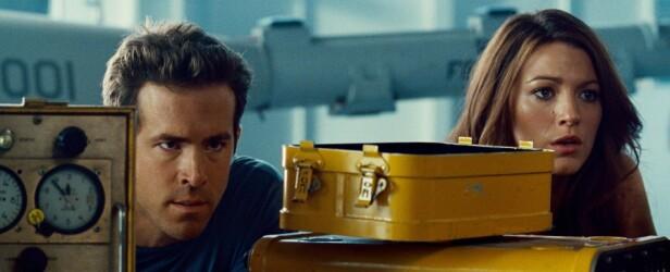GREEN LANTERN: Ryan Reynolds og Blake Lively spilte mot hverandre i filmen fra 2010. Foto: Scanpix
