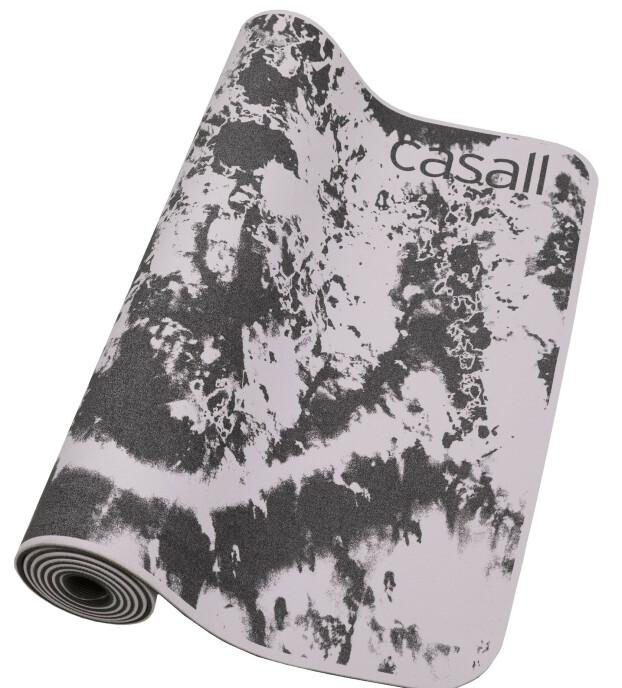 Mønstrete yogamatte (kr 350, Casall).