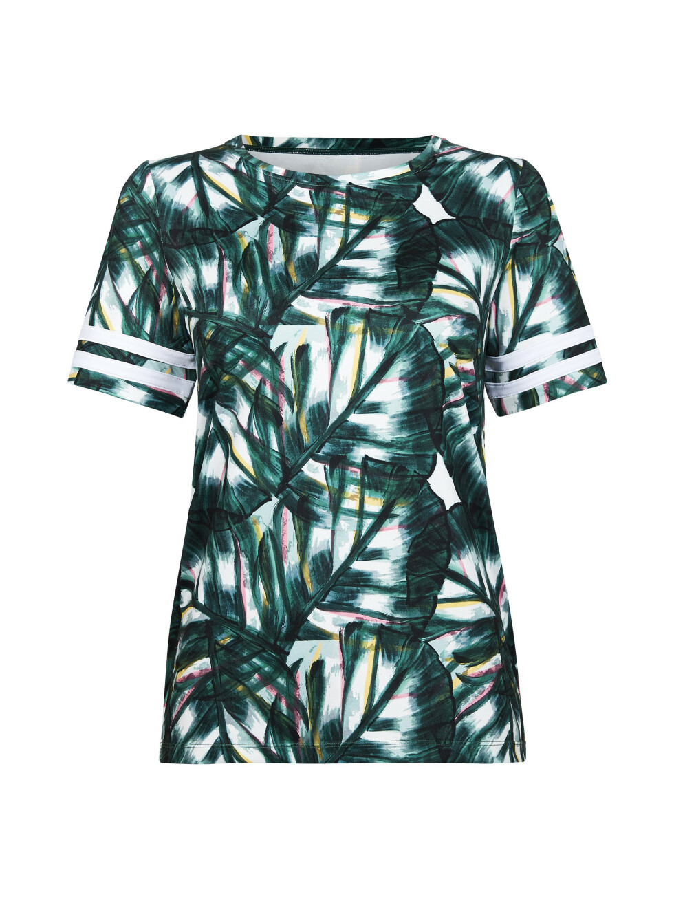 Mønstrete T-skjorte (kr 200, Cubus).