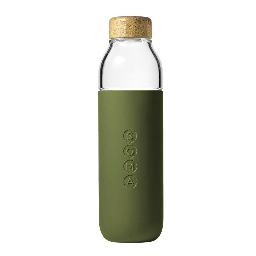 Drikkeflaske med skrukork (kr 400, Soma