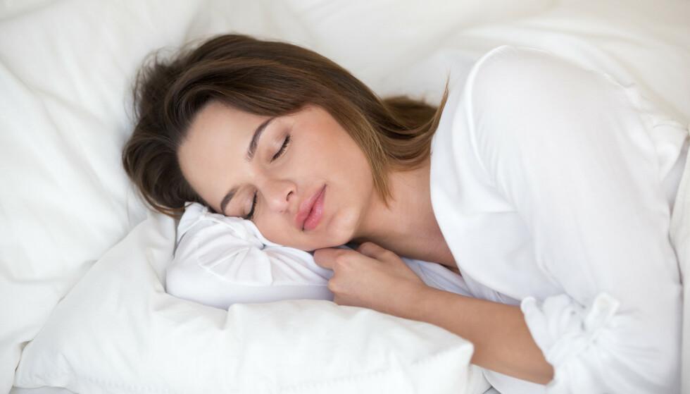 SØVN: Skal du ned i vekt må du sove nok. FOTO: NTB Scanpix