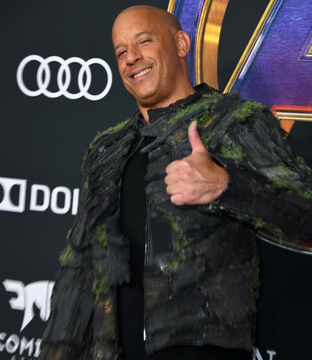 IKKE LIKE KULT: Vin Diesel heter altså egentlig Marc Sinclair. FOTO: NTB Scanpix