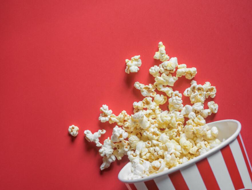 KINOSALER: Vi har plukket ut sju stykker du må sjekke ut. Hos en av dem får du ubegrensede mengder popcorn inkludert i prisen! Foto: Scanpix