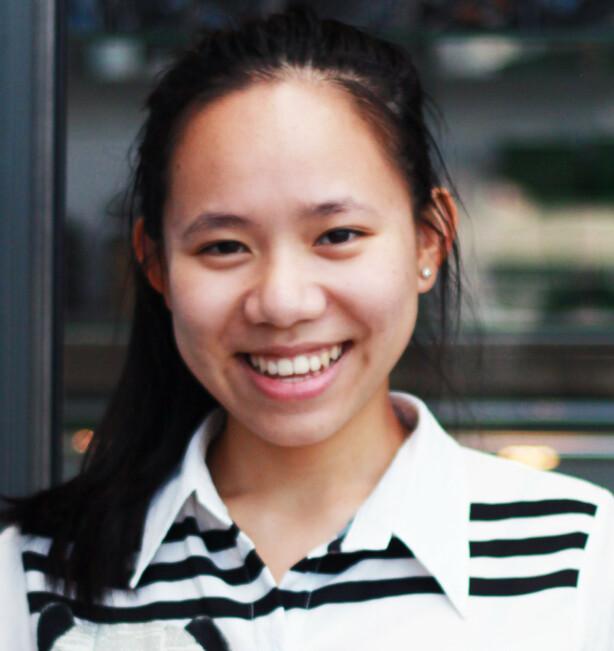 SKOLEPRESS: Lina sier at hun selv har slitt med stort press i forkant av eksamen og andre prøver, men sier at tro på egen mestring har vært nøkkelen for å takle det bedre. FOTO: Privat
