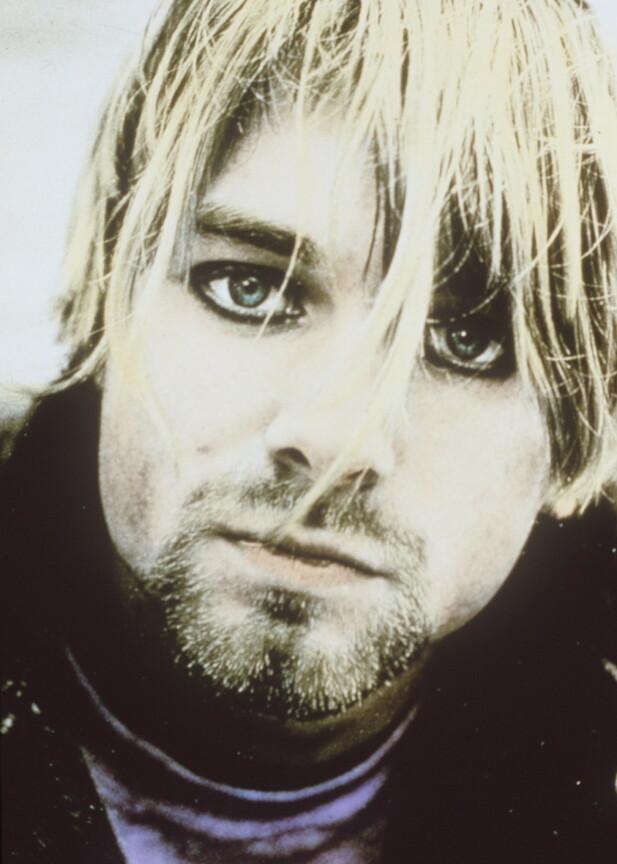 KURT COBAIN: Nirvana-vokalisten fikk legendestatus nesten over natten etter at albumet «Nevermind» kom ut i 1991. FOTO: NTB Scanpix