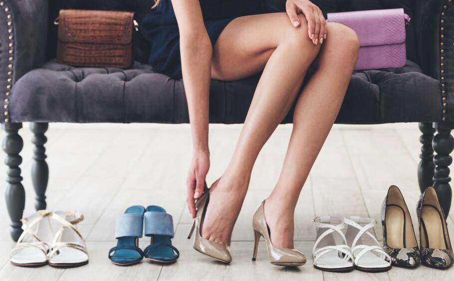 GNAGSÅR OG VANNBLEMMER: Det er grusomt ubehagelig å gå lenge rundt i vonde sko, OG det fører gjerne med seg vannblemmer og gnagsår. Foto: Scanpix