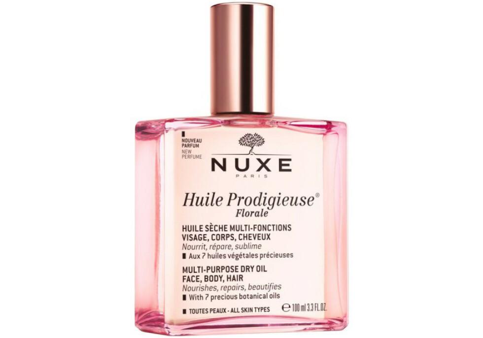 Serum | Nuxe | https://www.apotek1.no/produkter/nuxe-huile-prodigieuse-florale-958448p?utm_source=KK.no&utm_medium=Advetorial&utm_campaign=Nuxe%20Huile%20Prodigieuse%20Florale