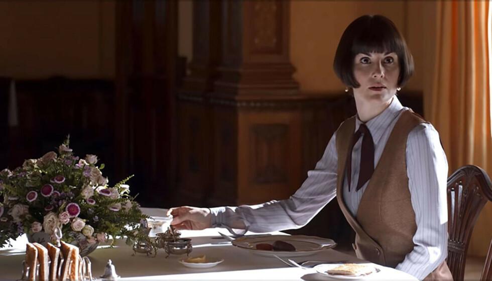 MER DOWNTON ABBEY: - Et besøk av hvem, sier du? I høst kommer spillefilmen Downton Abbey - som fansen har ventet på siden seriens slutt i 2015. Foto: Filmweb