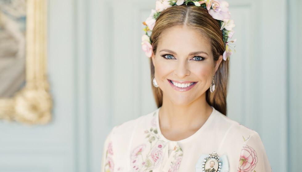 SLIK VI ER VANT TIL Å SE HENNE: Ifølge Svensk Dam har prinsesse Madeleine av Sverige tonet seg kraftig ned, med tanke på den glamouren prinsessen vanligvis er kjent for. FOTO: Erika Gerdemark // Kungahuset.se