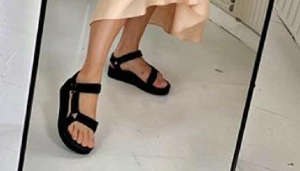 Sandaler med borrelås. Noe for deg?