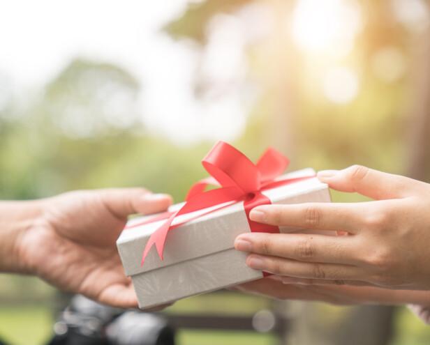 Er det innafor å gi bort brukte gaver?
