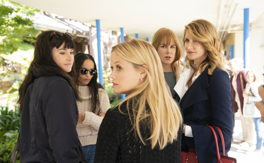 KOMMER SANNHETEN FREM?: Mødrene i den populære serien «Big little lies» er tilbake på TV-skjermen 10. juni. FOTO: HBO
