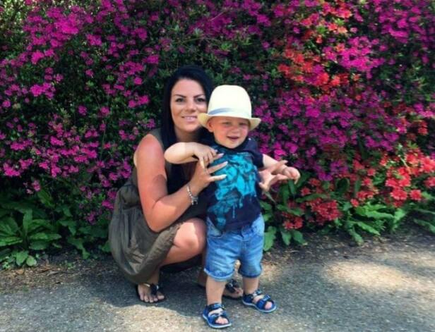 STOLT MAMMA: Emma Kilgour (30) fra Brighton i England sier til KK at hun er stolt av sin snart tre år gamle sønn Archie Harrison Windsor - uavhengig av om han deler samme navn som den rojale babyen. FOTO: Privat