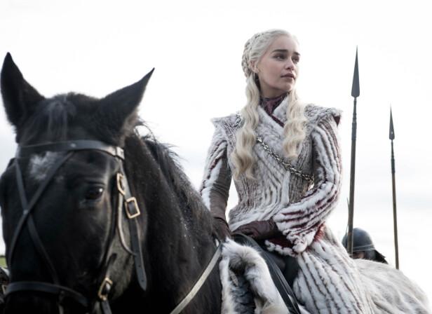 TAKKET NEI: Like etter at siste episode av Game of Thrones ble vist, ble det kjent at Emilia Clarke (bildet) kunne hatt rollen som Anastastia Steele i Fifty Shades of Grey-filmene. Foto: Scanpix