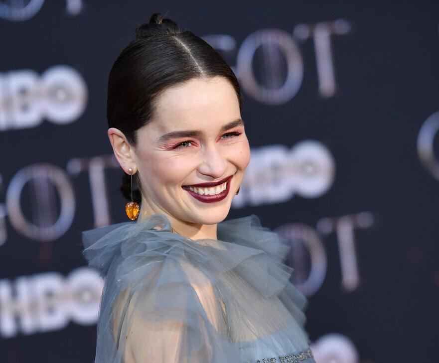 EMILIA CLARKE: Game of Thrones-skuespilleren kunne hatt hovedrolle i Fifty Shades of Grey. Foto: Scanpix