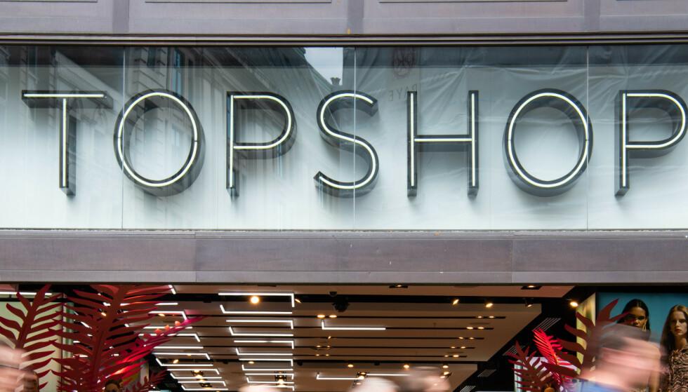 Topshop legger ned alle butikkene i USA