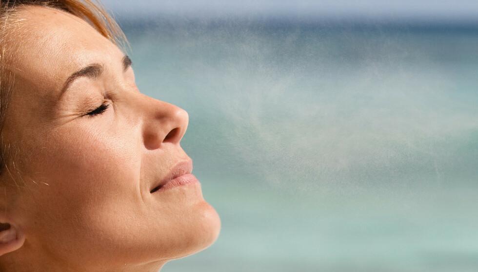 Ansiktsspray med solkrem - funker det?