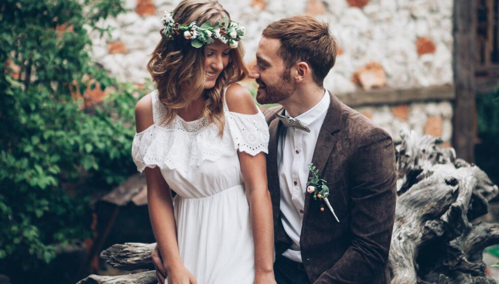 PÅ VEI NED? Det er mye som tyder på at skilsmissestatistikken vil gå ned for par som inngår ekteskap i dag og i nær framtid. FOTO: NTB Scanpix