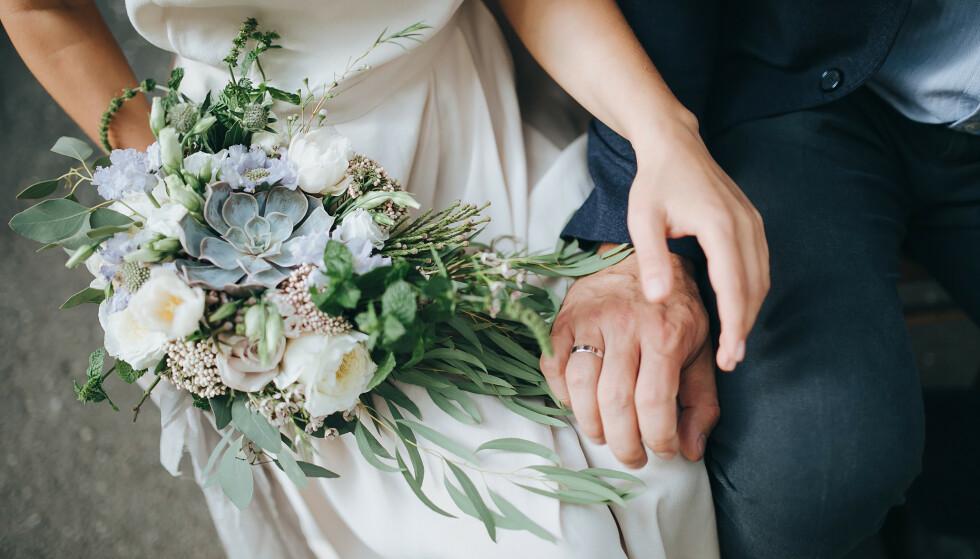 Å GIFTE SEG: Et ekteskap er for alltid. Eller? FOTO: NTB Scanpix