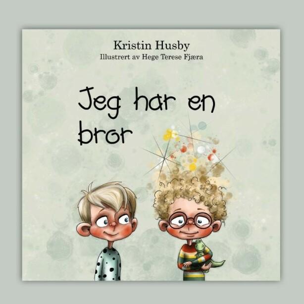 GUSTAV OG ESPEN: Fortellingen er illustrert av Hege Therese Fjæra og gitt ut via forlaget kolofon. Foto: Kolofon