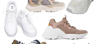 14 par sneakers til under 699 kroner