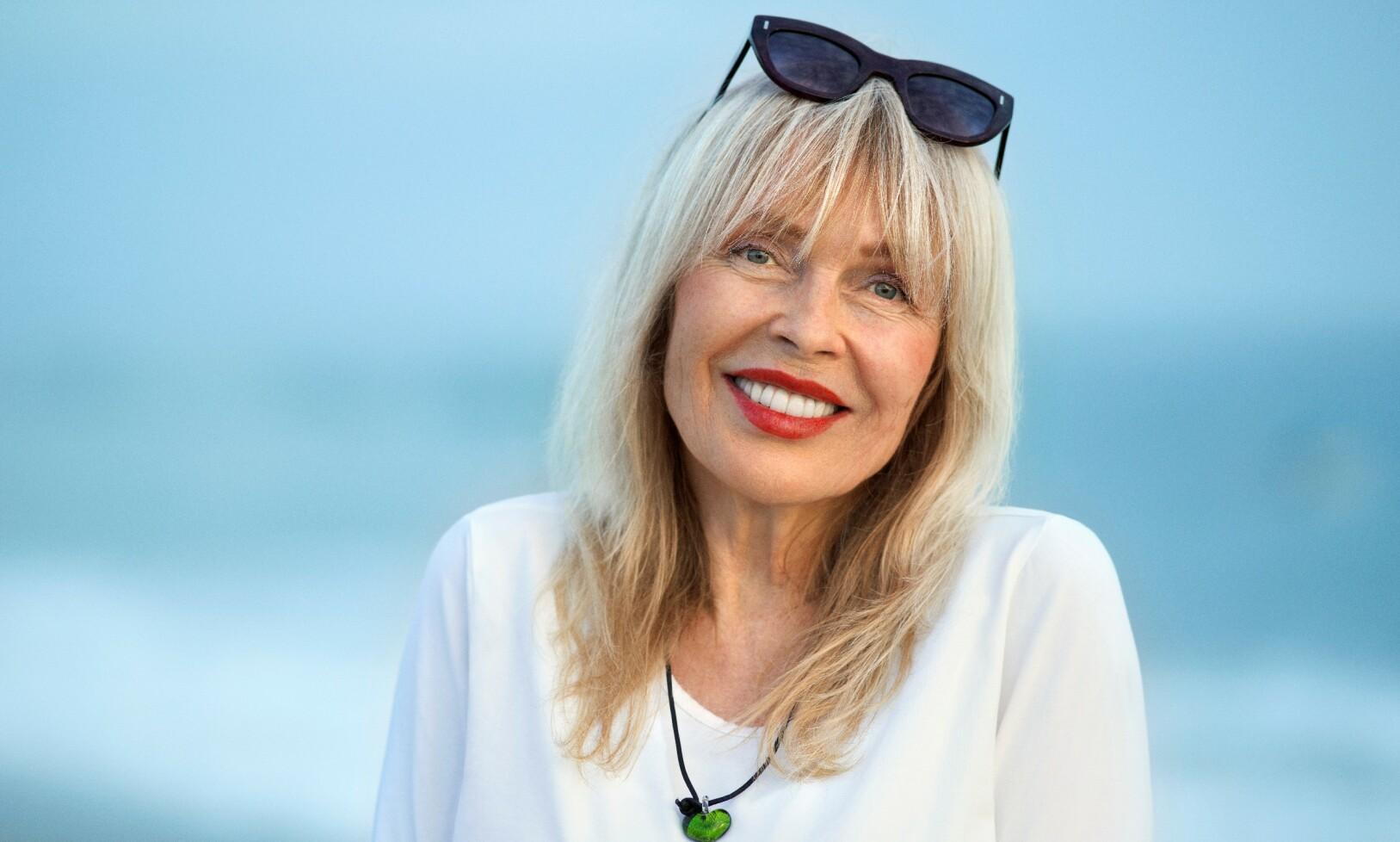 <strong>BEDRE LIV:</strong> Lillian Müller synes livet har blitt bedre med årene, og takker livsstilen sin for det. Foto: Morten Quale