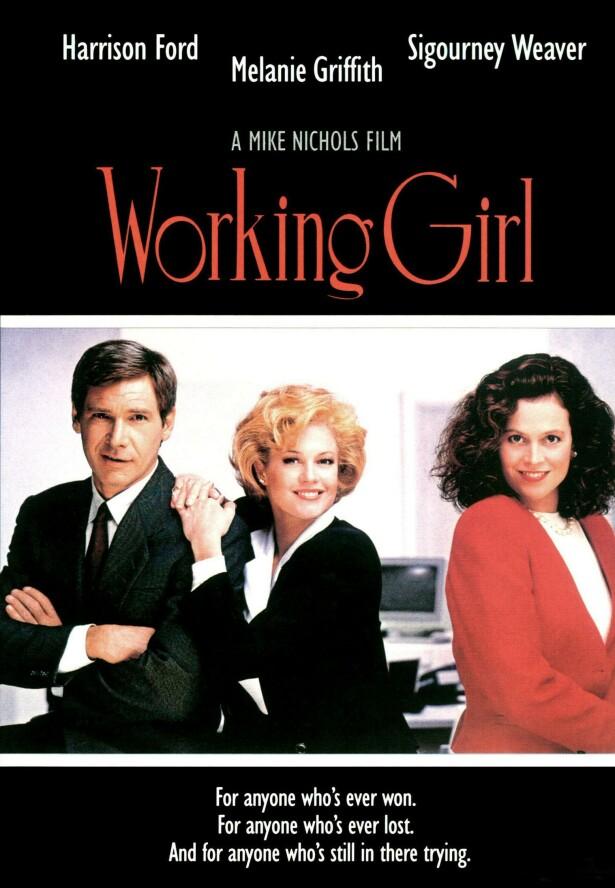 <strong>TIDSMASKIN:</strong> Filmen «Working girl» oppsummerte tidsånden på 80-tallet: jappedrømmen som går i oppfyllelse med et eget kontor i en skyskraper. FOTO: NTBScanpix