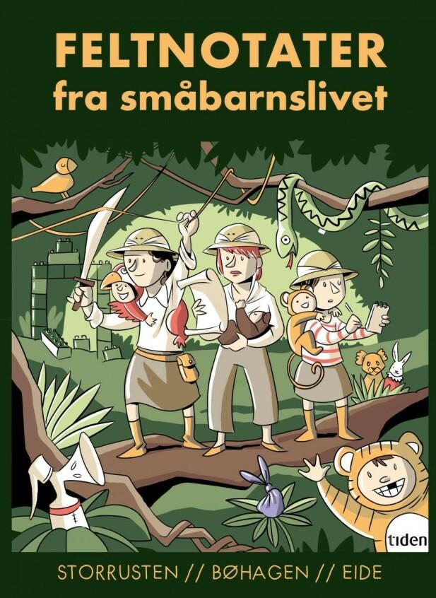 I FELT: - Det er ikke en typisk bok om barn det her, forklarer Storrusten. Foto: Tiden Forlag