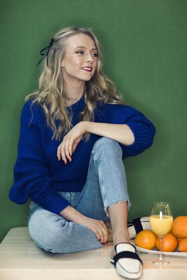 Genser fra Zara, kr 200. Sko fra Zara, kr 600. Jeans fra Lindex, kr 400. Foto: Astrid Waller