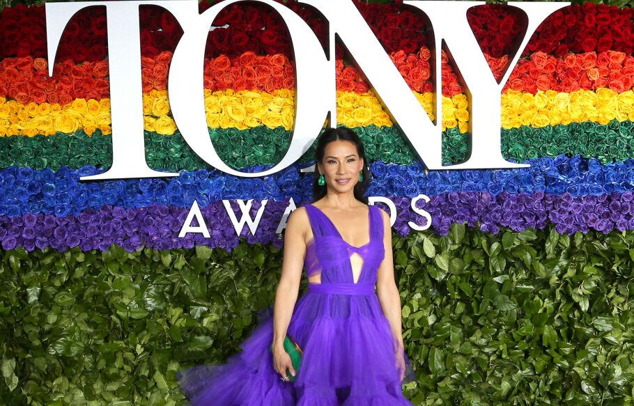 LUCY LIU: Filmstjernen var blant kjendisene som hadde tatt turen til New York for årets Tony Awards. Foto: Scanpix
