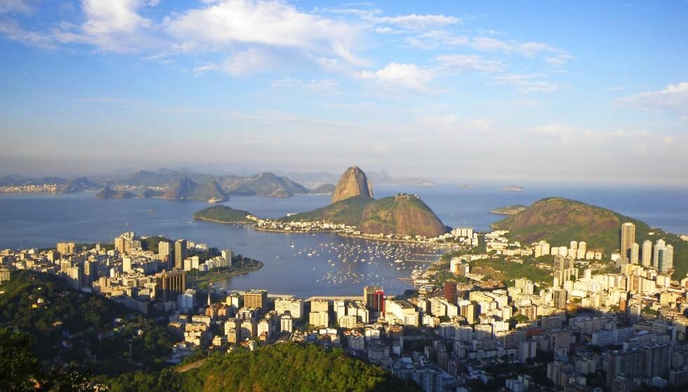 Brasil, 2009.– Rio de Janeiro er den flotteste byen jeg har sett. Her sett oppe fra Kristus-statuen. Jeg besøkte byen på nytt under karnevalet i 2015. FOTO: Privat