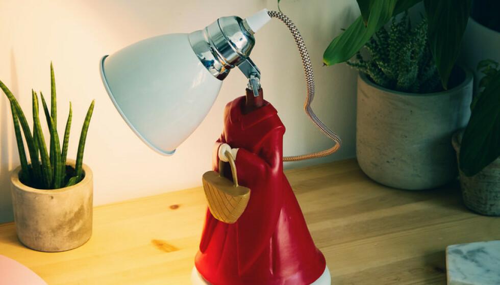 LA DET BLI LYS: En feminists drømmelampe? Foto: Firebox.com