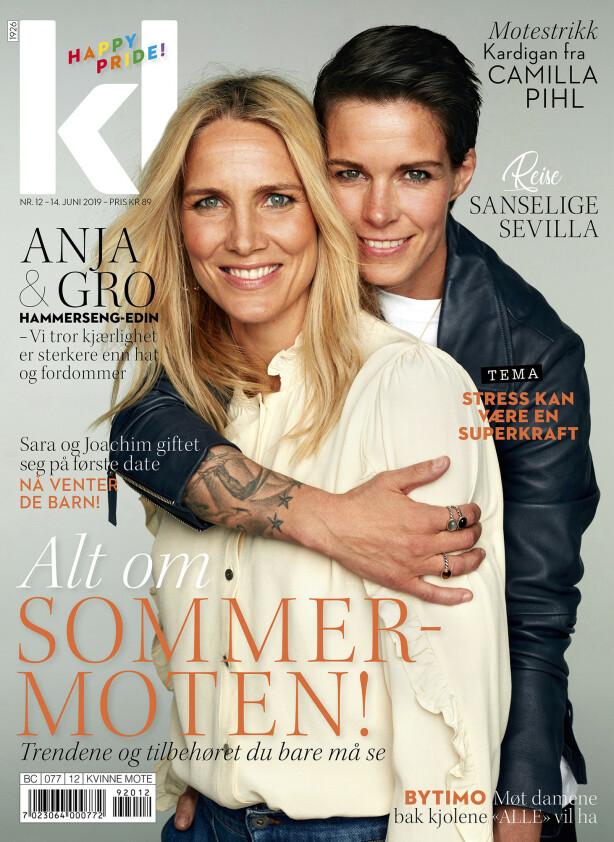 I SALG FRA FREDAG 14. JUNI: Intervjuet med Gro og Anja er hentet fra KK nr. 12 2019. FOTO: Thomas Qvale