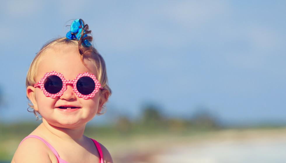 Slik beskytter du barna dine mot solen