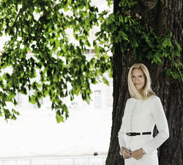 – Å ta plass og stå for meningene sine har aldri vært et problem for meg, sier Liza. FOTO: Sif Meincke