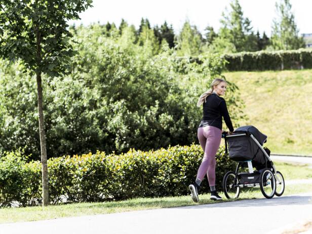 TRENING: Liva har alltid vært aktiv på treningsfronten, og i den perioden hun møtte Henrik løp hun turer omtrent hver eneste dag. FOTO: Astrid Waller