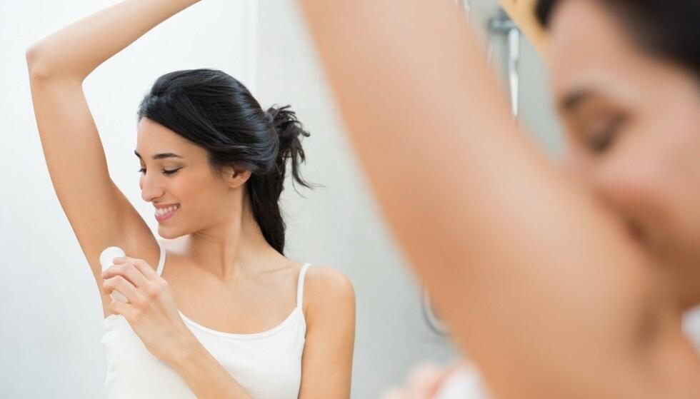 RIKTIG PRODUKT: Om du sliter med hudirritasjon, kan det være lurt å bytte produkt. FOTO: Shutterstock