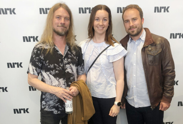 ÅPENHJERTIG: Vi møtte ekteparet Marini og psykolog Peder Kjøs under NRKs høstlansering i juni. FOTO: Malini Gaare Bjørnstad