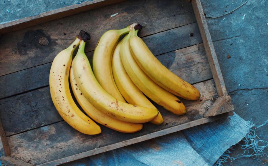 BANAN: Hvilken banan velger du? Grønne, gule eller brune? FOTO: NTB scanpix