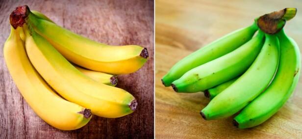 BANAN: Hvilken banan foretrekker du? FOTO: NTB Scanpix