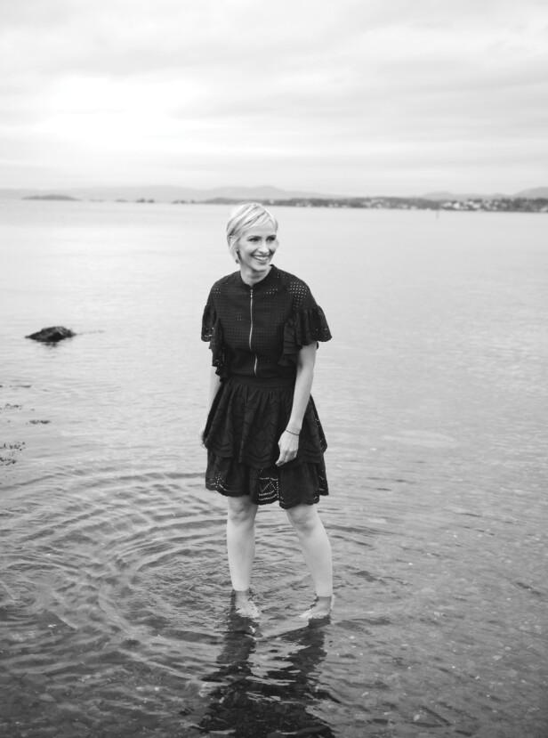 - Før elsket jeg krim, men etter at jeg fikk barn, måtte jeg slutte, sier Anne. FOTO: Janne Rugland