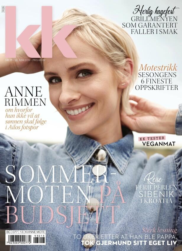 PÅ COVER: Fredag 28. juni kommer denne utgaven med Anne Rimmen på cover i butikk.