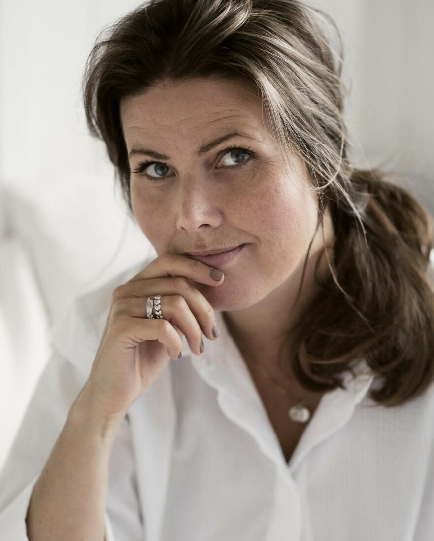SMÅ GLEDER: Etter at Anette Isachsen ble friskere, nyter hun små hverdagsgleder på en helt ny måte. FOTO: Astrid Waller