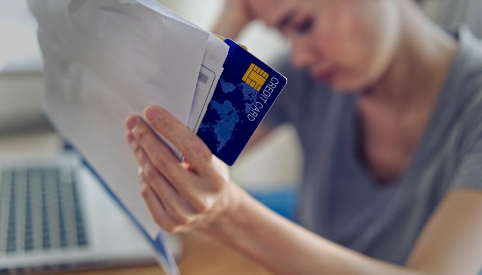PÅVIRKER ØKONOMIEN: Hvis du har mange kredittkort og mange kredittrammer, vil det påvirke hvor mye boliglån du får av banken, selv om du ikke bruker kortene.