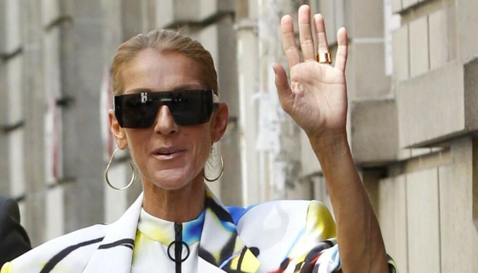 Celine Dion vekker oppsikt i Paris