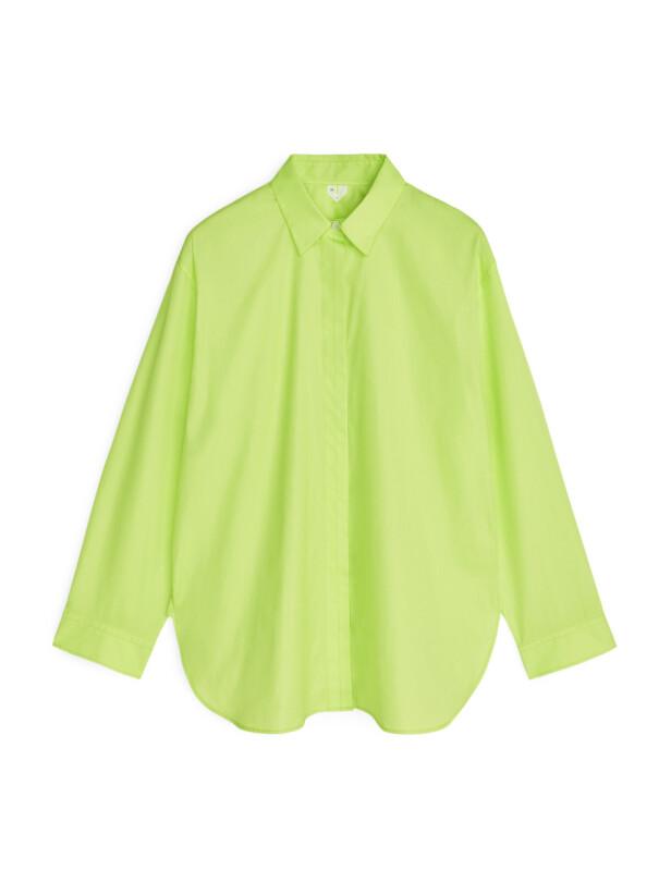 Ja du tør! Skjorte (kr 630, arket.com). FOTO: Produsenten