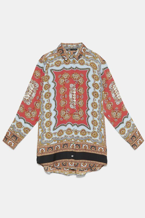 Skjorte (kr 350, Zara). FOTO: Produsenten